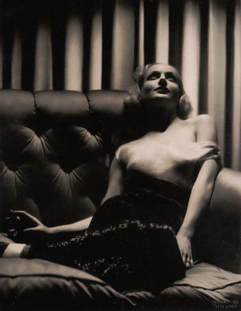 Screen legend, Carole Lombard.