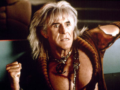 Montalban as Kahn, in Star Trek II: The Wrath Of kahn