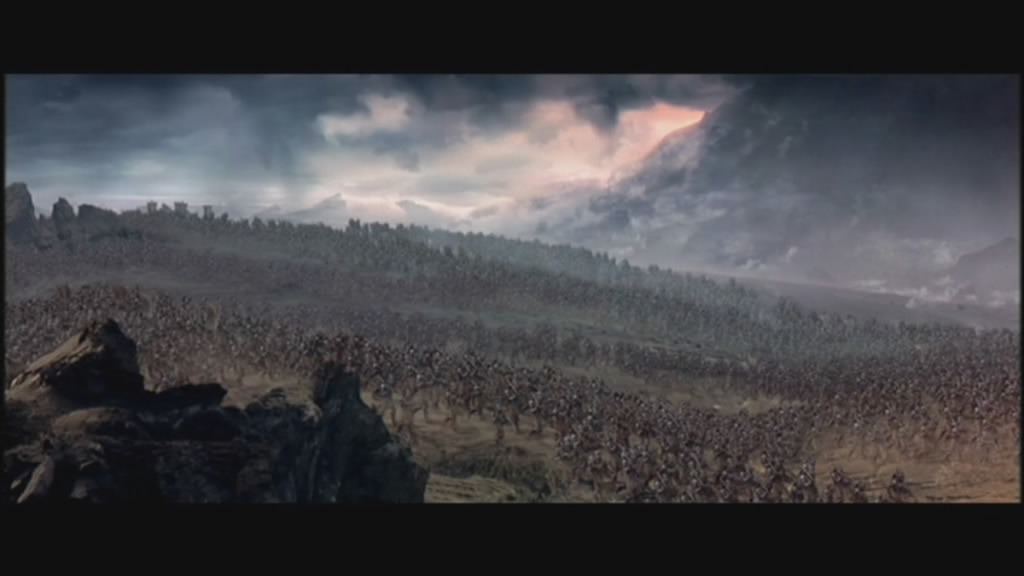 Early, unused footage from first theatrical trailer.