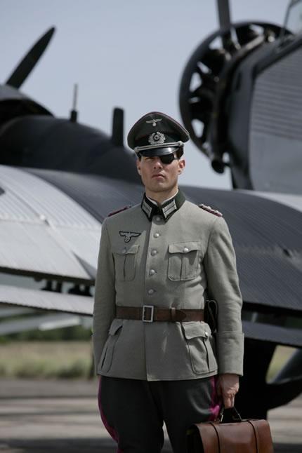 Tom Cruise as Colonel Von Stauffenberg.