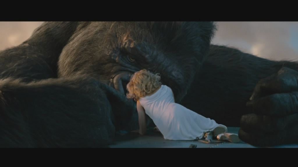 Kong and Ann Darrow get comfy...