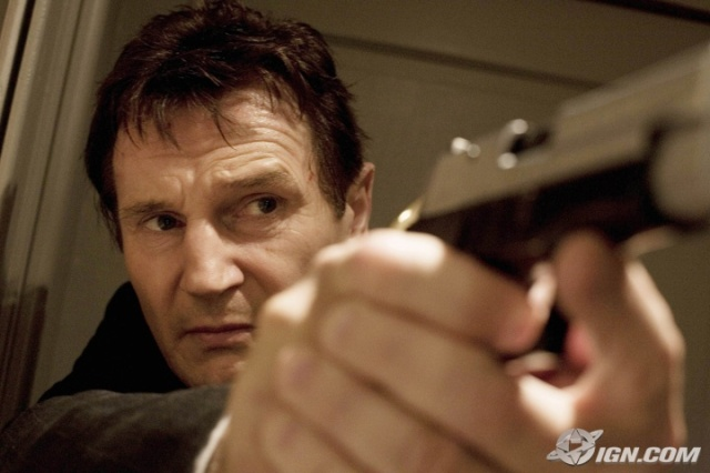 taken movie review Movie review taken liam neeson takes on an uncharacteristically action-driven role in a dark, violent, vengeance-ridden thriller about human trafficking (district b13) and produced and co-written by besson, taken is slicker and smarter than that.