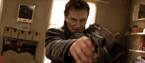 Liam Neeson again, this time looking totally badass!!