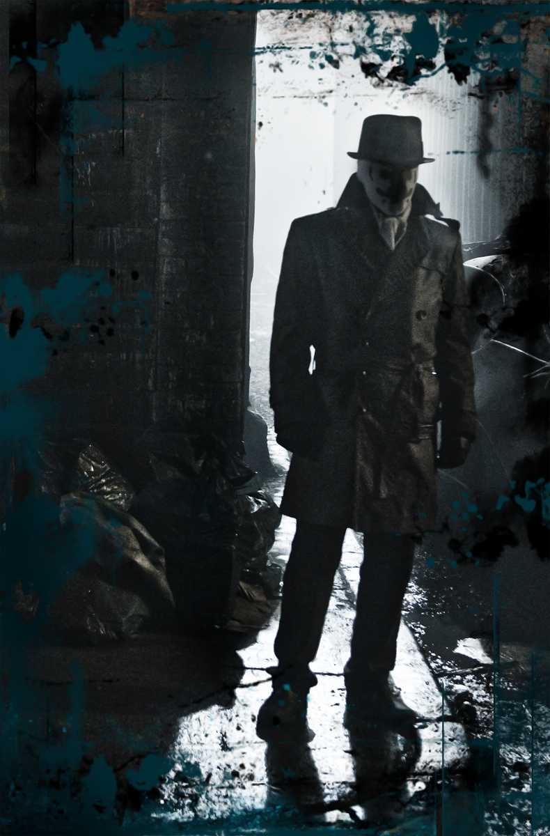 Creepy, Rorschach. Great character though.