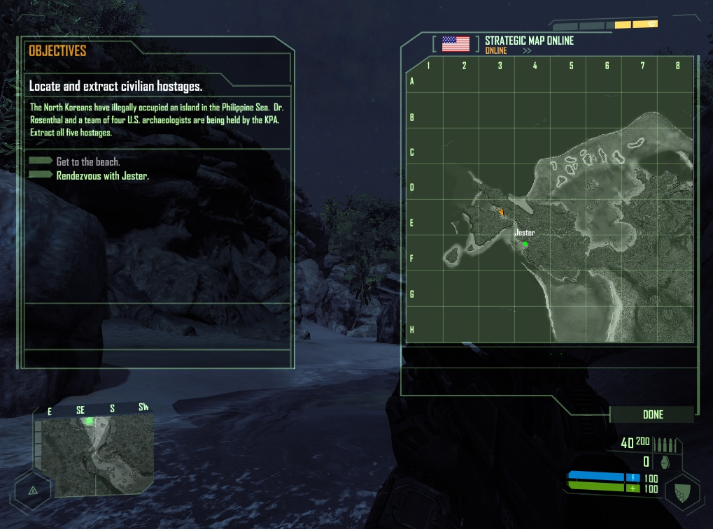 Mission status and map overviews help a lot.