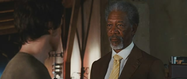 Morgan Freeman plays Sloan, a man in desperate need of some good lovin'.