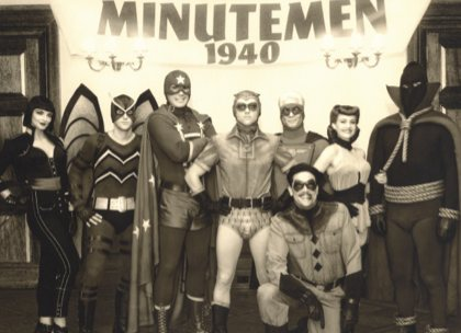The original Minutemen, heroes from the Golden Age.
