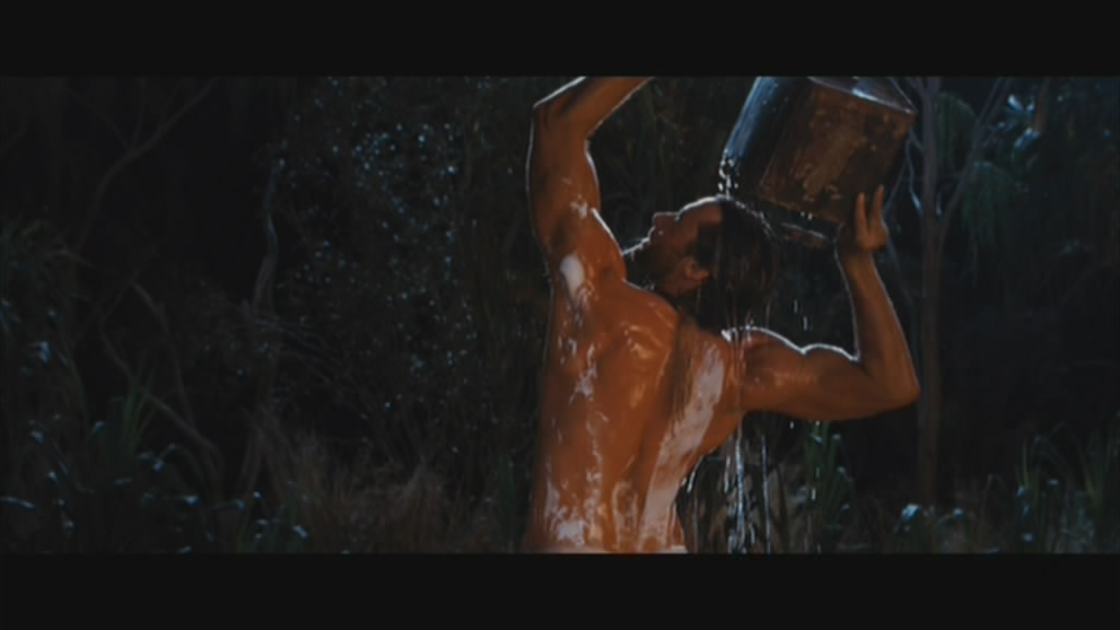 The single most talked about scene in the film.