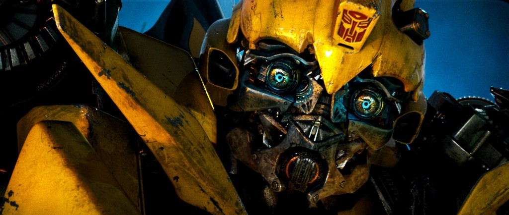 Bumblebee does what is required. He kicks ass!!