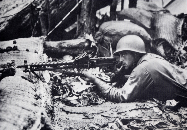 Fighting on Guadalcanal