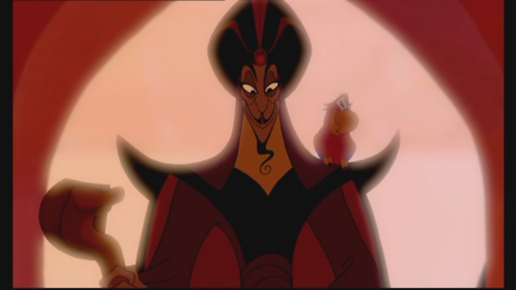 Jafar and Iago make an entrance...