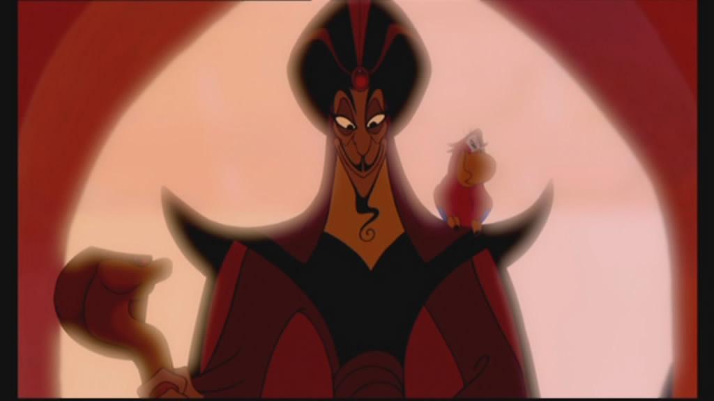 Jafar and Iago make an entrance...
