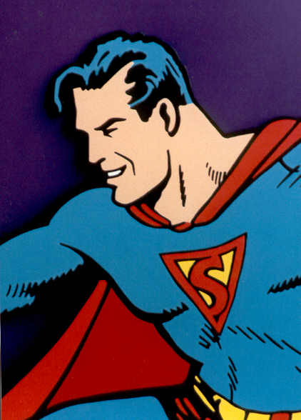 The original 40's Superman, first spotted in 1939.