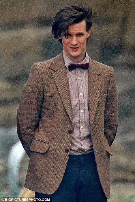 Matt Smith as the Eleventh Doctor.