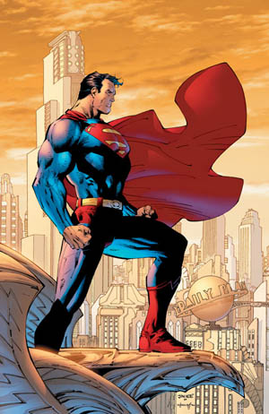 The classic, modern Superman.