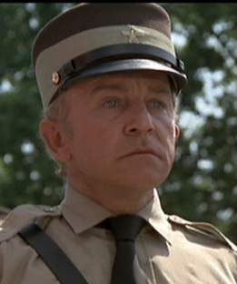 Gibson as the leader of the Illionois Nazis in The Blues Brothers