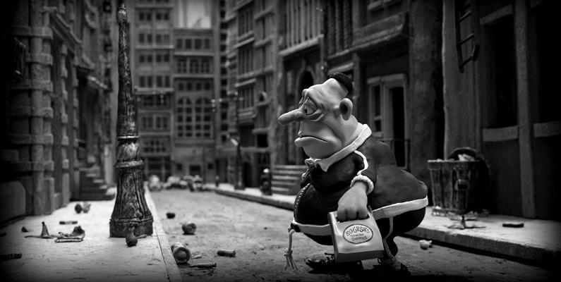 Max wanders through New York....
