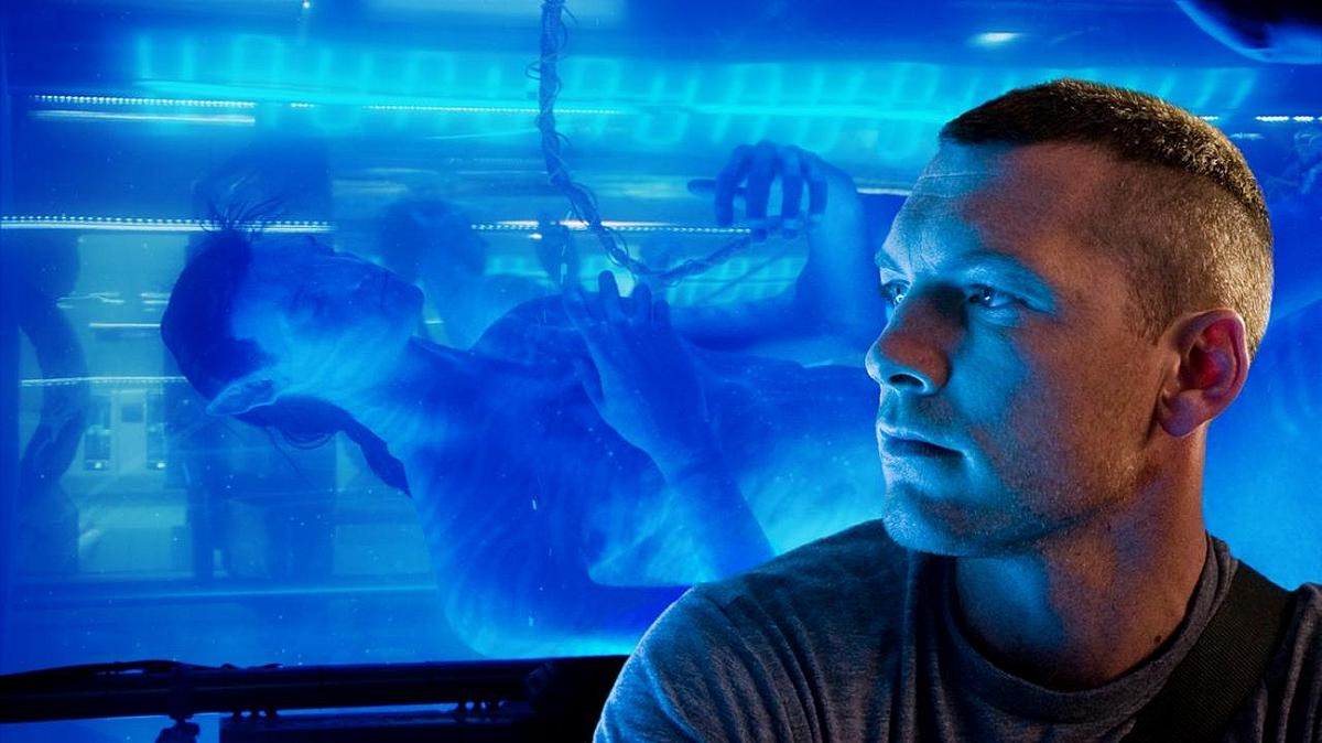 Blue again? C'mon Jimmy, didn't you do this in Aliens, T2, The Abyss and Titanic?