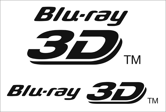The new logo for BluRay 3D....