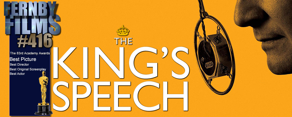 movie review the kings speech Parents need to know that the king's speech is an engrossing, fact-based drama that's rated r primarily for a few scenes of strong language (including one f-word-filled outburst) it has inspiring and empowering messages about triumphing over your fears.