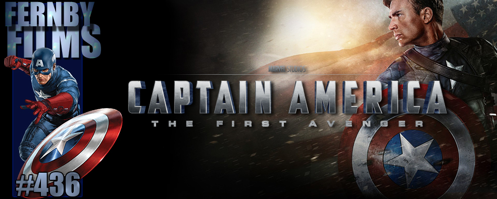 Captain America The First Avenger Review Logo v5.1 Movie Review   Captain America: The First Avenger