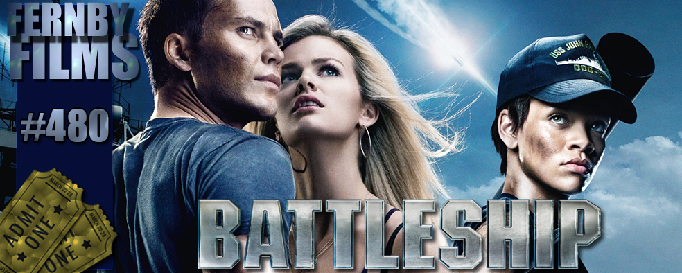 Battleship Review Logo v5.1 Movie Review   Battleship