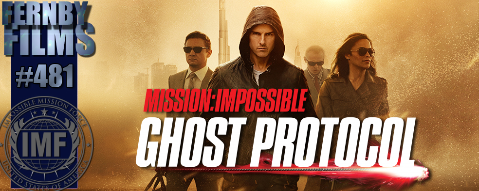 Mission Impossible Ghost Protocol Review Logo v5.2 Movie Review   Mission: Impossible   Ghost Protocol