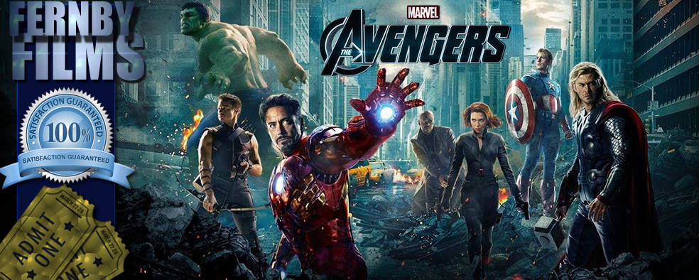 The Avengers Review Logo v5 Movie Review   Avengers, The (2012)