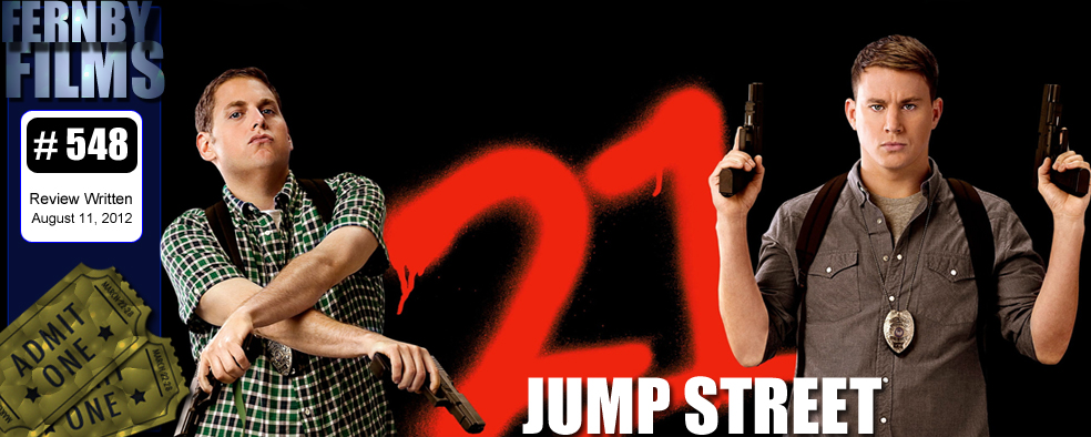 21 Jumpe Street Review Logo Movie Review 21 Jump Street