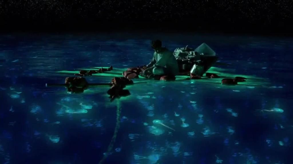 Yeah, because something always glows under the water....
