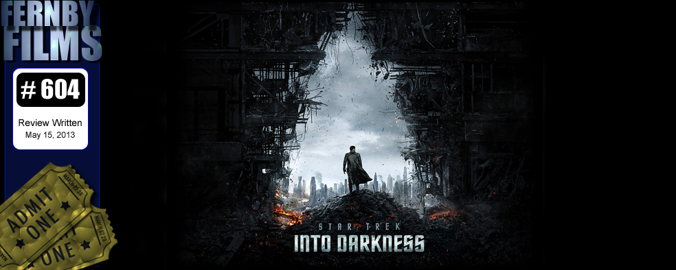 Star Trek Into Darkness Review Logo Movie Review   Star Trek Into Darkness