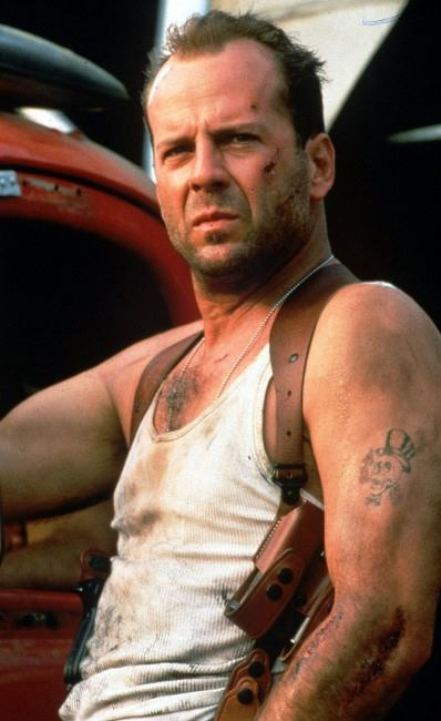 Die Hard - the epitome of cool....