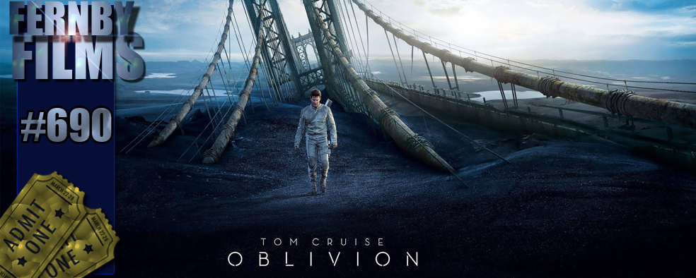 Oblivion Review Logo Movie Review   Oblivion