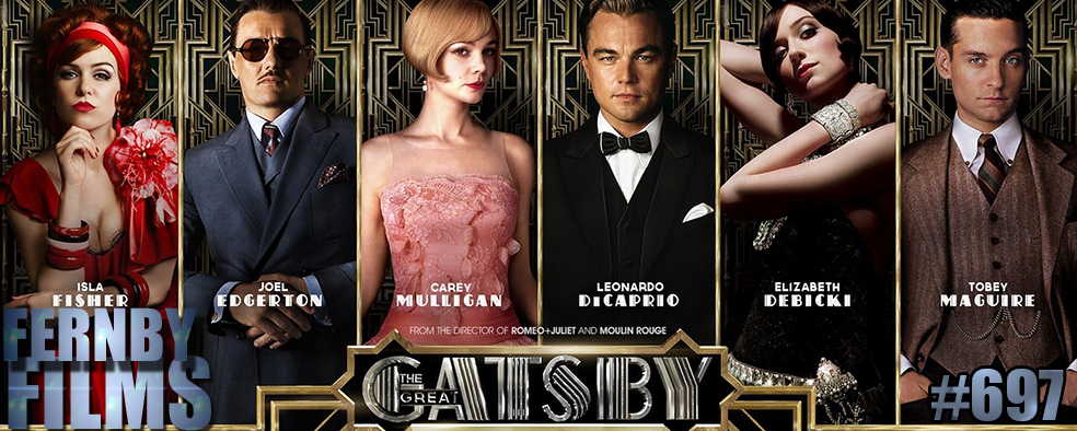 The Great Gatsby 2013 Review Logo Movie Review   The Great Gatsby (2013)
