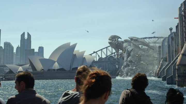 I've been to Sydney. That's a stupid place to build a wall.
