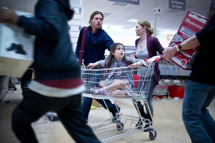 Shopping with the kids was always hectic.