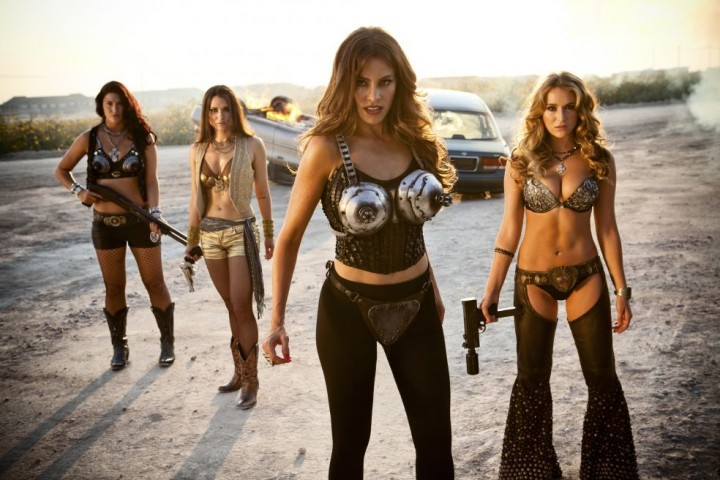 The chick on the right used to be the little girl in Spy Kids. Get that out of your filthy mind now, pervert.