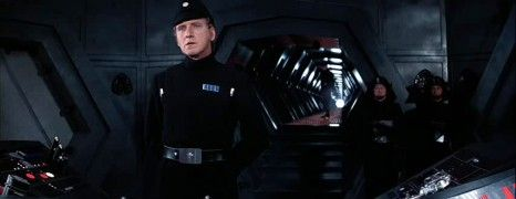 Mr Tierney as an Imperial officer in 1977's Star Wars.