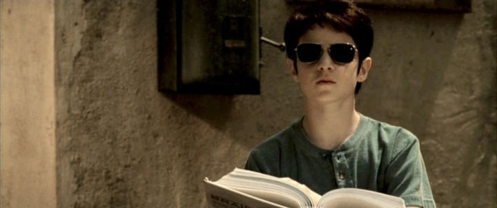 This copy of the script is so bad I need glasses to protect my eyes!!!