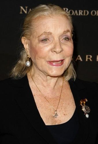 Lauren Bacall in 2008.