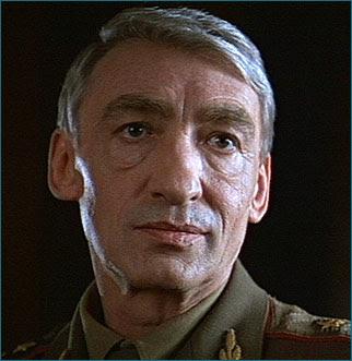 Gottfried John as Colonel Orumov in 1996's GoldenEye.