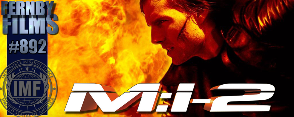 Mission Impossible II Review Logo Movie Review   Mission: Impossible II
