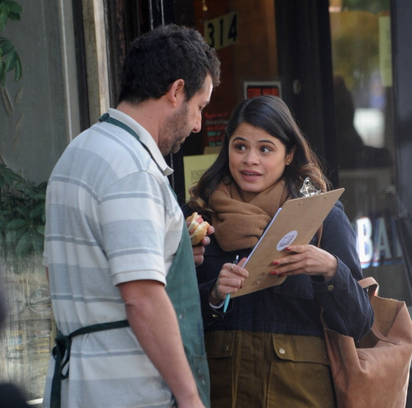 Celebrity Sightings In New York City - November 14, 2013