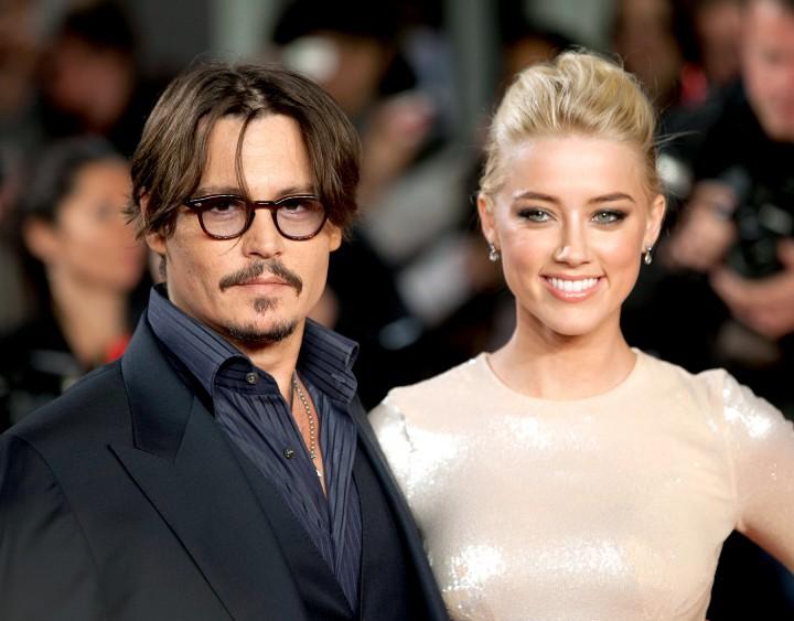 Johnny Depp & Amber Heard - Married in 2015