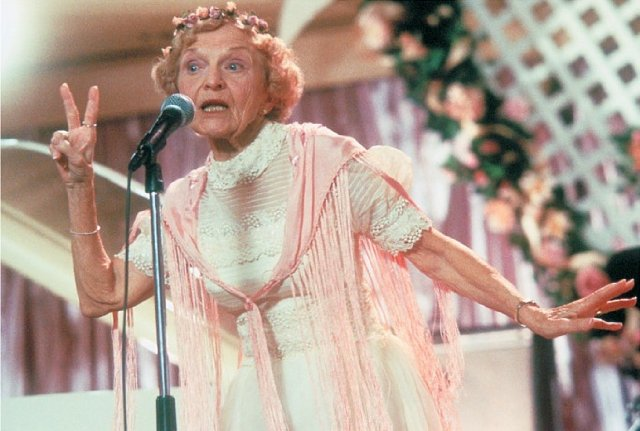 Ellen Albertini Dow (In The Wedding Singer, 1998) - 1913-2015