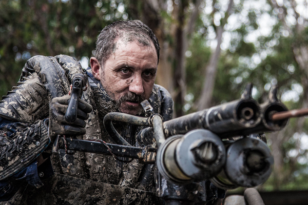 Keith Agius as Frank in Wyrmwood.