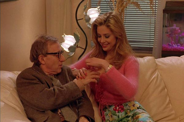 "Woody Allen & Mira Sorvino in ""Mighty Aphrodite""."