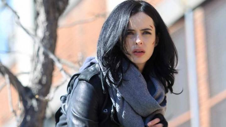 Kristen Ritter as Jessica Jones.
