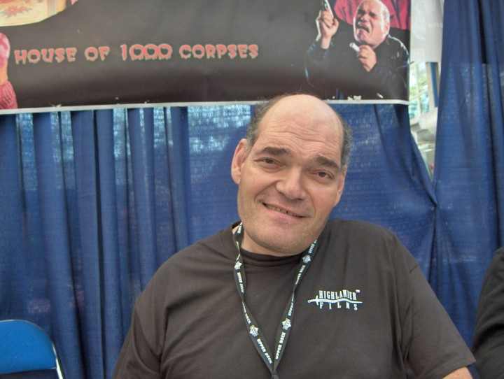 "Irwin Keyes promoting ""House of 1000 Corpses"""