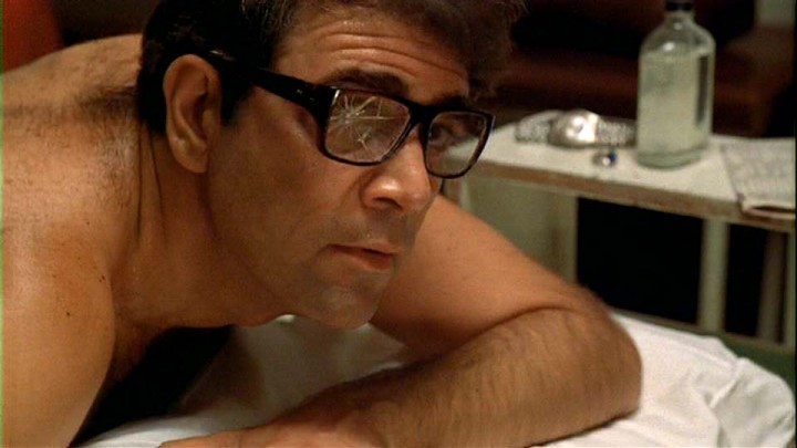 Alex Rocco as he appeared in The Godfather.
